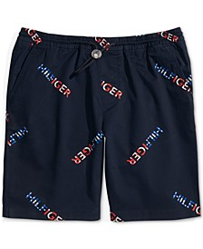 "Men's Signature Regular-Fit 9"" Shorts with One-Handed Drawstring"
