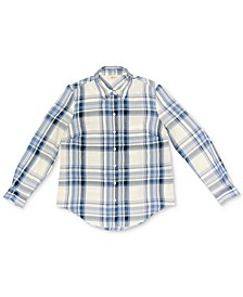 Plaid Boyfriend Shirt, Created for Macy's