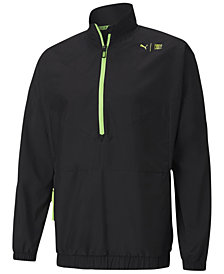 Puma Men's First Mile Xtreme Woven Half-Zip Jacket