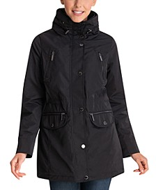 Hooded Anorak Raincoat, Created for Macy's