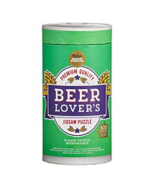 Ridley's Beer Lover's 500 Piece Jigsaw Puzzle