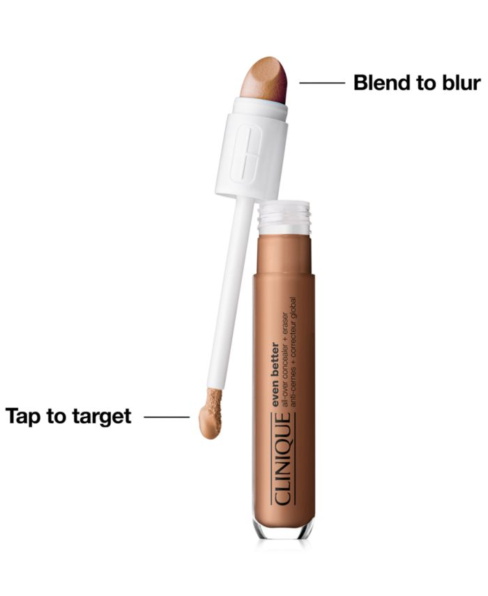 Clinique Even Better All-Over Concealer Plus Eraser & Reviews - Makeup - Beauty - Macy's