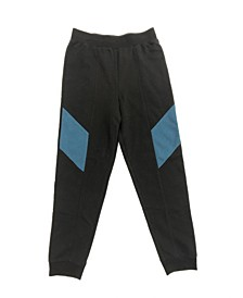 Big Boys Fleece Inset Jogger, Created for Macy's