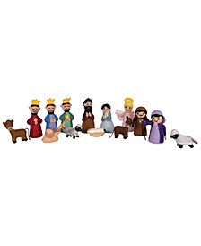 Felt Nativity Figurines Set of 14 Pieces