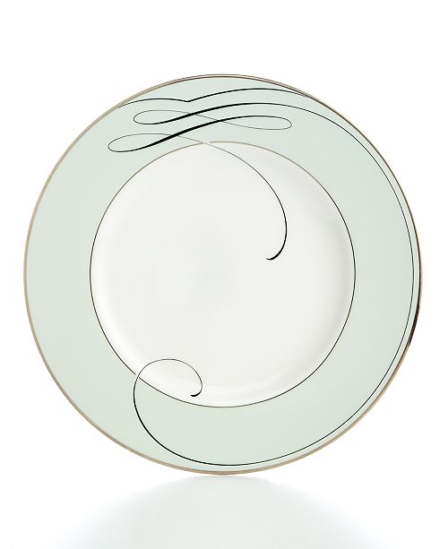 Waterford Ballet Ribbon Accent Plate