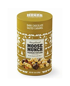 Moose Munch Dark Chocolate Salted Caramel Canister, 10oz