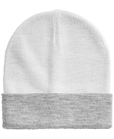Men's Reversible Beanie, Created for Macy's