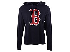 '47 Brand Men's Boston Red Sox Imprint Club Long Sleeve Hooded T-Shirt