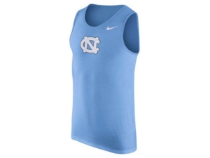 Nike Men's North Carolina Tar Heels Dri-fit Cotton Logo Tank