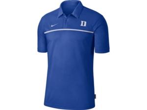 Nike Men's Duke Blue Devils Sideline Coaches Polo