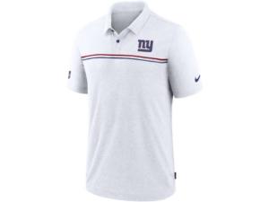 Nike New York Giants Men's Dri-Fit Short Sleeve Polo