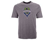 Men's Seattle Sounders FC Distressed Primary Logo T-Shirt