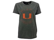 Women's Miami Hurricanes Vintage Wash T-Shirt