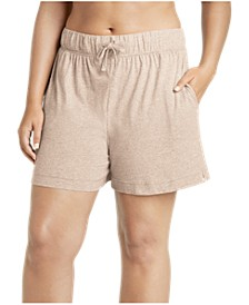 Plus Size Boxer Pajama Shorts