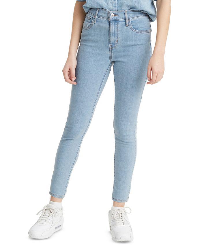Levi's - Juniors' High-Rise Skinny Jeans