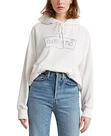 Levi's® Fleece Graphic Print Hoodie