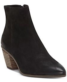 Women's Grasem Stacked Heel Booties