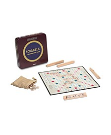 Scrabble Tin Board Game Nostalgia Edition