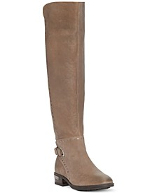 Women's Poppidal Wide-Calf Stretch Riding Boots