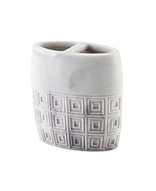 Halston Marble Toothbrush Holder
