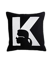 "Silhouette Decorative Pillow, 18"" x 18"""