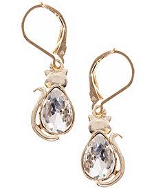 Pet Friends Jewelry Cat Stone Drop Earring