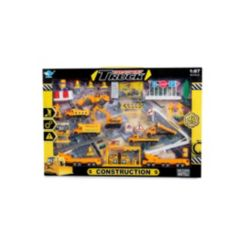 Mag-Genius Mini Vehicle Construction 40-Piece Mega Toy Set