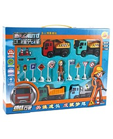 Mag-Genius Construction Play Set with Play Mat