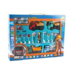Mag-Genius Big Daddy Construction Play Set with Play Mat