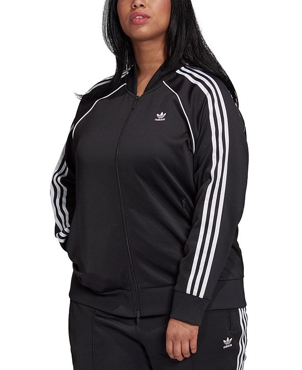 adidas Plus Size Track Jacket