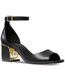 Michael Michael Kors Lana Block-Heel Dress Sandals