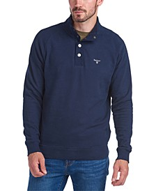 Men's Sweat Half-Snap Pullover