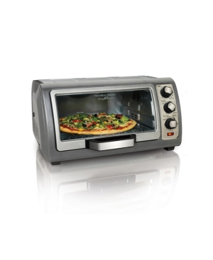 Hamilton Beach Easy Reach Toaster Oven with Roll-Top Door -  31126D