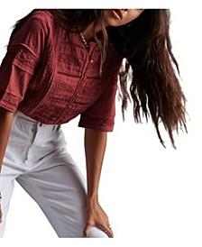 Women's Ellison Textured Blouse
