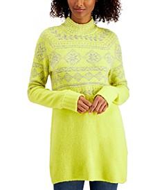 Fair-Isle Tunic Sweater, Created for Macy's