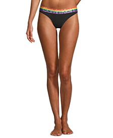 Women's Modern Cotton Rainbow Bikini Underwear