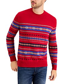 Men's Fair Isle Sweater, Created for Macy's