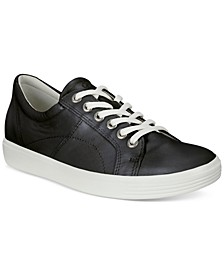Women's Soft Classic Lace-Up Sneakers