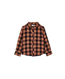 Little Boys Rugged Long Sleeve Shirt