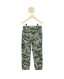 Toddler Boys Logan Cuffed Pant