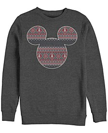 Men's Sweater Fill Mouse Long Sleeve T-Shirt