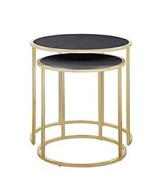 Tuscany 2 Piece Side Table Set