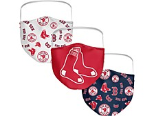 Boston Red Sox 3-Pk. Face Mask