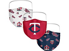 Minnesota Twins 3-Pk. Face Mask