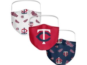 Minnesota Twins 3-Pk. Face Mask