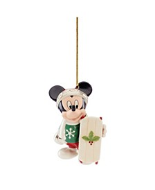 2020 Let It Snow Mickey Ornament