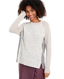 Donna Cashmere Colorblock Sweater, Created for Macy's