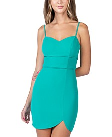 Juniors' Sweetheart Bodycon Dress