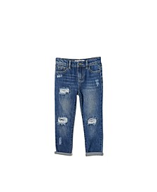 Little Girls India Slouch Jean
