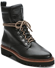March Lace-Up Hiker Booties